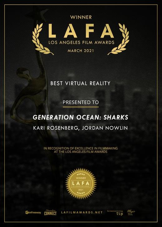 Generation Ocean- Sharks LAFA Winner
