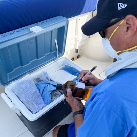 John Fauth UCF Water Sampling