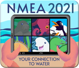 National Marine Educators Association 2021 Conference logo